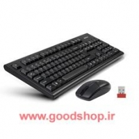 KB+Mouse Wireless A4TECH 3100N